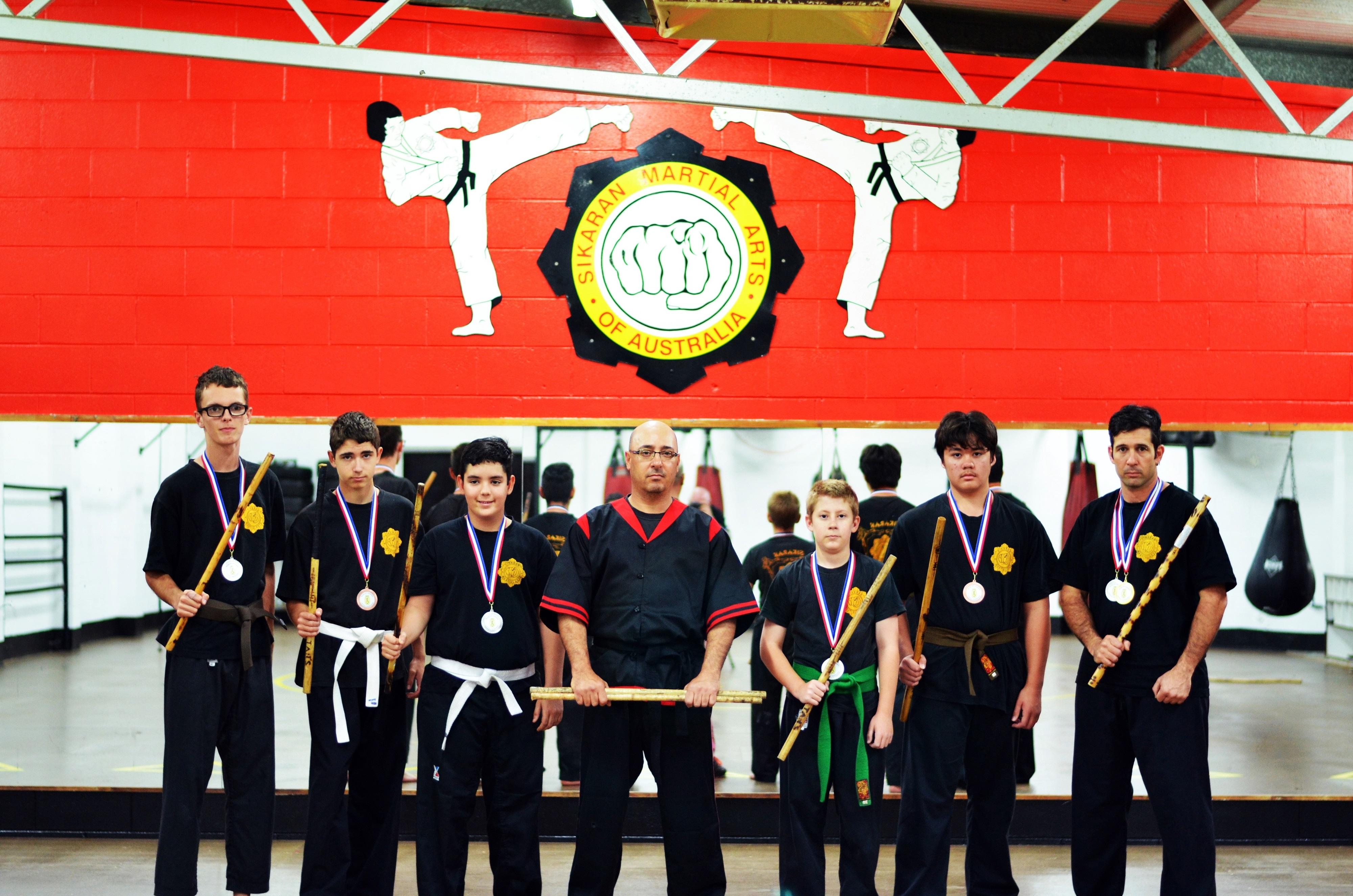 Sikaran Martial Arts Mount Isa WEKAF 2017 Eskrimadors
